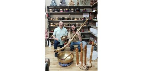 Cours Didgeridoo et Flûte de style amérindienne