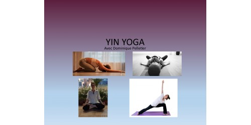 YIN Yoga - session (8 cours)