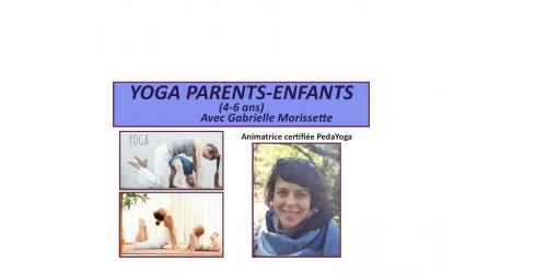 YOGA PARENT-ENFANT (4-6 ans)