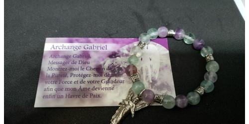 Bracelet Gabriel (fluorite)