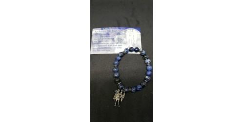 Bracelet Archange Michaël (sodalite)